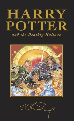 Harry Potter and the Deathly Hallows UK Deluxe First Edition.